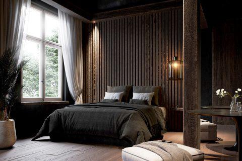 3D habitación hotel