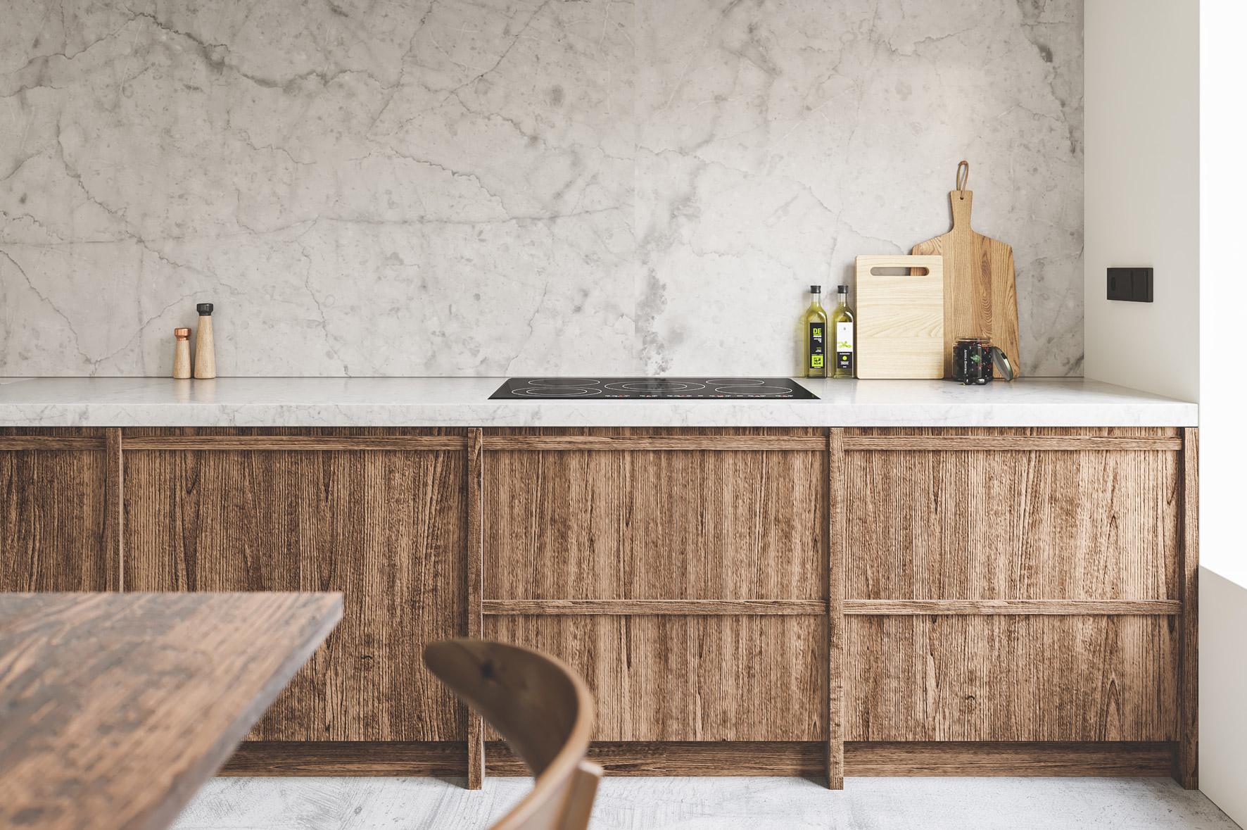 Render mobiliario cocina